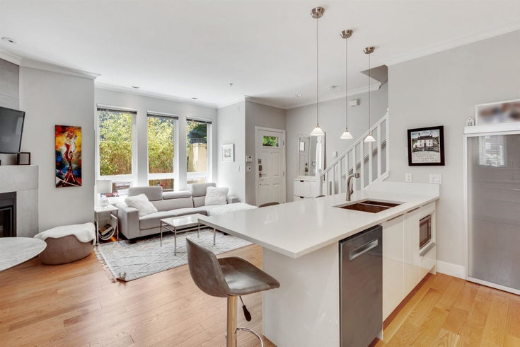1638 ARBUTUS STREET - Kitsilano Townhouse for sale, 3 Bedrooms (R2597236)