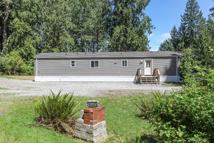 16585 TIMBERLINE ROAD - Pender Harbour Egmont Manufactured with Land for sale, 2 Bedrooms (R2597714)