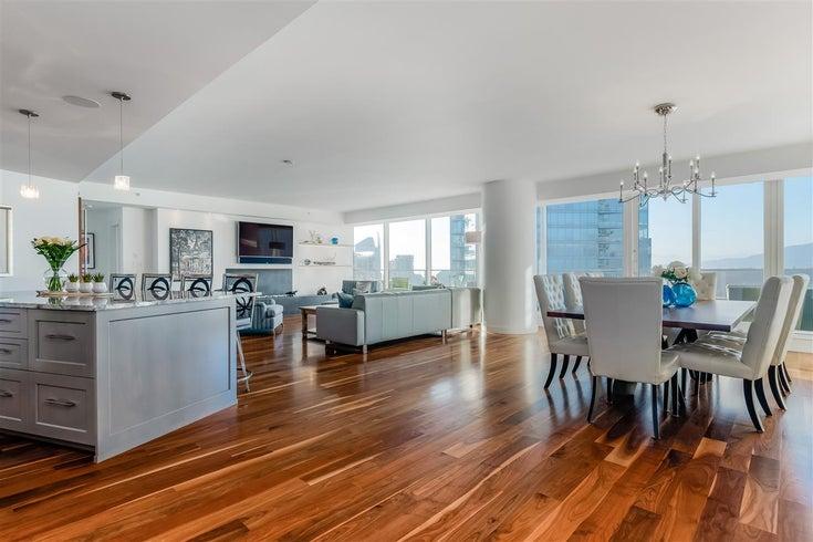 3706 1011 W CORDOVA STREET - Coal Harbour Apartment/Condo for sale, 2 Bedrooms (R2597737)