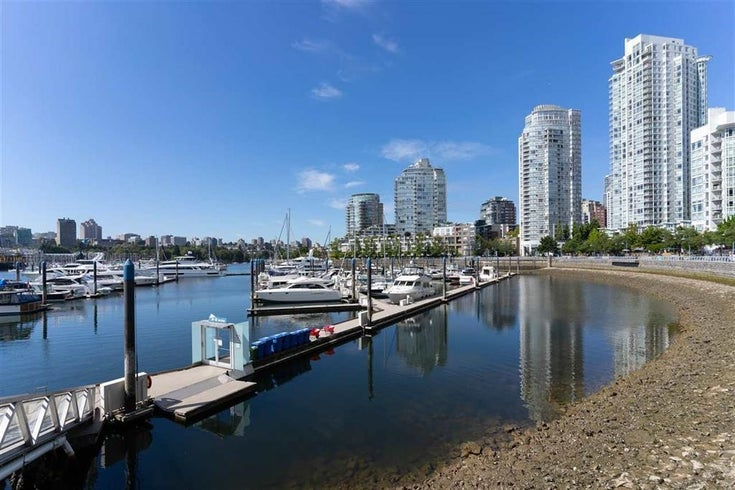 1057 MARINASIDE CRESCENT - Yaletown Townhouse for sale, 2 Bedrooms (R2597795)