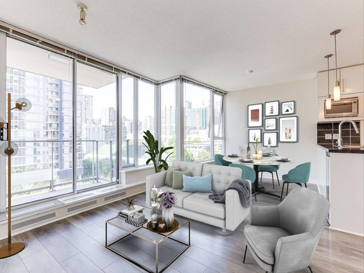 1501 188 KEEFER PLACE - Downtown VW Apartment/Condo for sale, 1 Bedroom (R2598085)