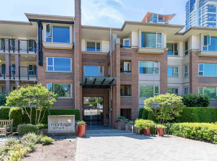 411 4728 DAWSON STREET - Brentwood Park Apartment/Condo for sale, 2 Bedrooms (R2598942)