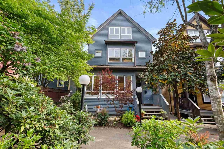 1071 E PENDER STREET - Strathcona Townhouse for sale, 3 Bedrooms (R2598945)