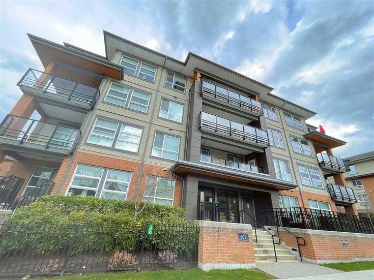 302 607 COTTONWOOD AVENUE - Coquitlam West Apartment/Condo for sale, 2 Bedrooms (R2599001)