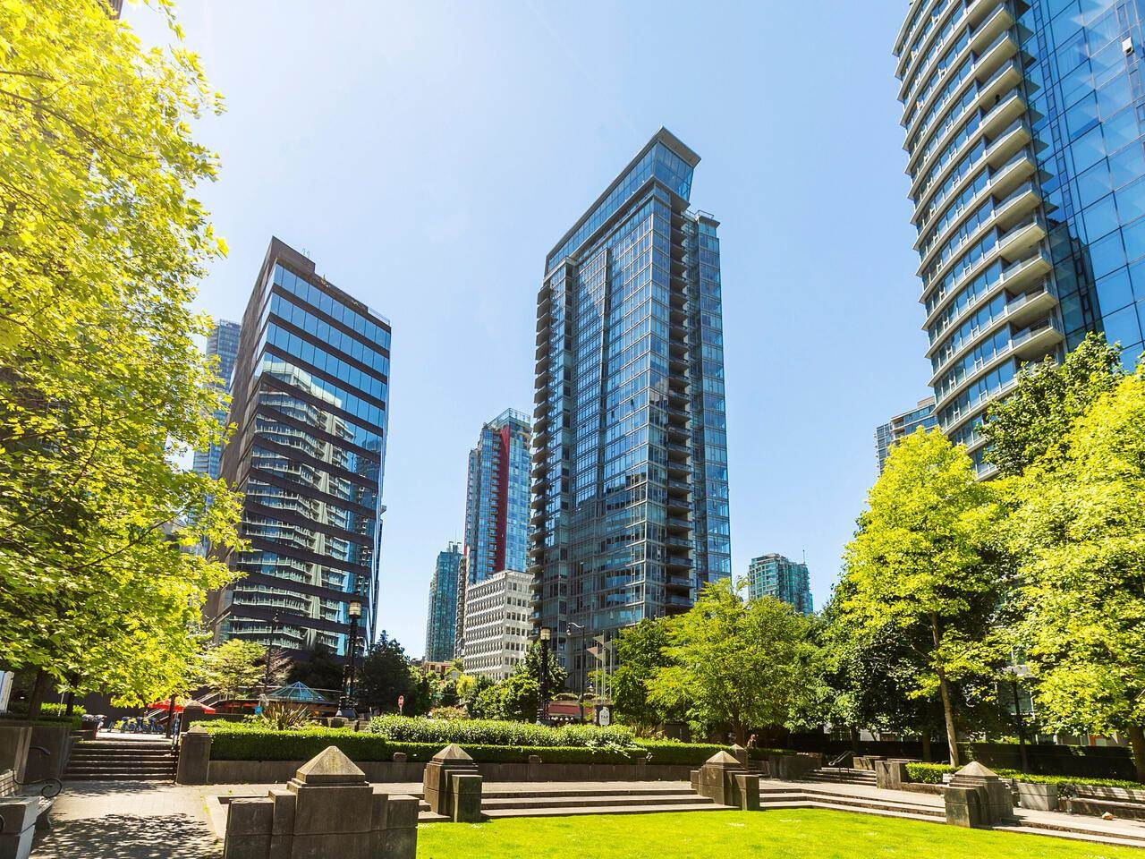 1004 1205 W HASTINGS STREET - Coal Harbour Apartment/Condo for sale, 2 Bedrooms (R2599401) - #1