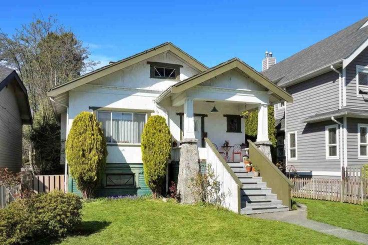 2735 W 8TH AVENUE - Kitsilano House/Single Family for sale, 2 Bedrooms (R2599455)