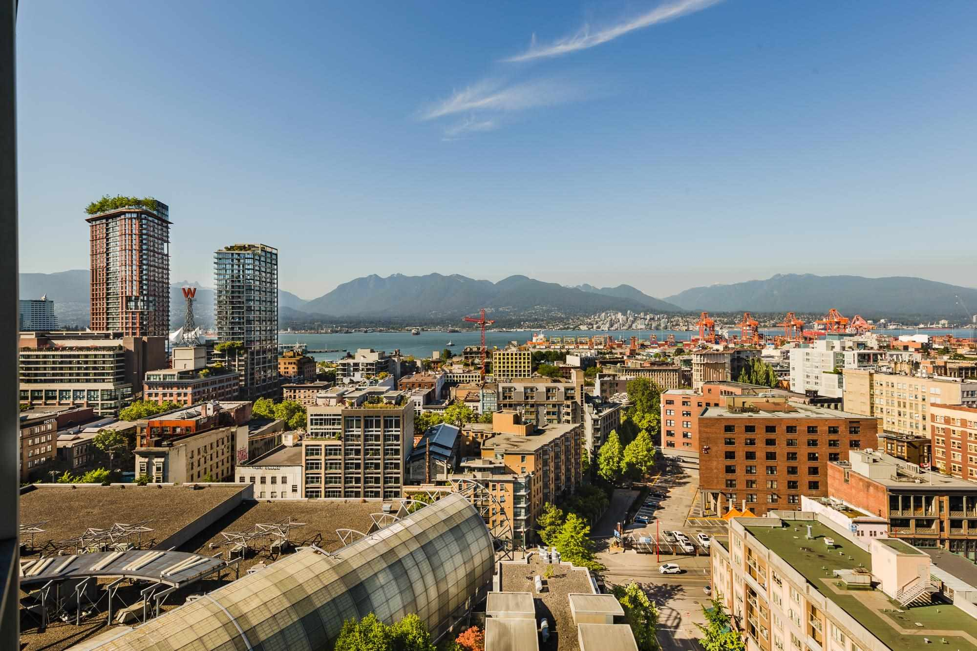 2107 63 KEEFER PLACE - Downtown VW Apartment/Condo for sale, 1 Bedroom (R2599464) - #1