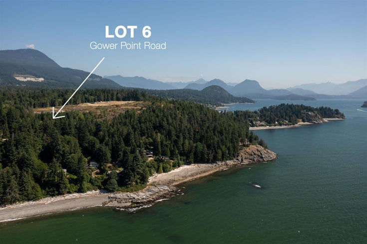 LOT 6 GOWER POINT ROAD - Gibsons & Area for sale(R2599817)