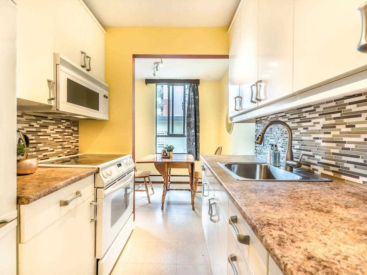 307 1720 BARCLAY STREET - West End VW Apartment/Condo for sale, 1 Bedroom (R2599883)
