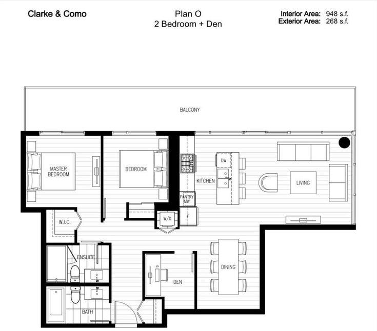 3306 567 CLARKE ROAD - Coquitlam West Apartment/Condo for sale, 2 Bedrooms (R2600067)