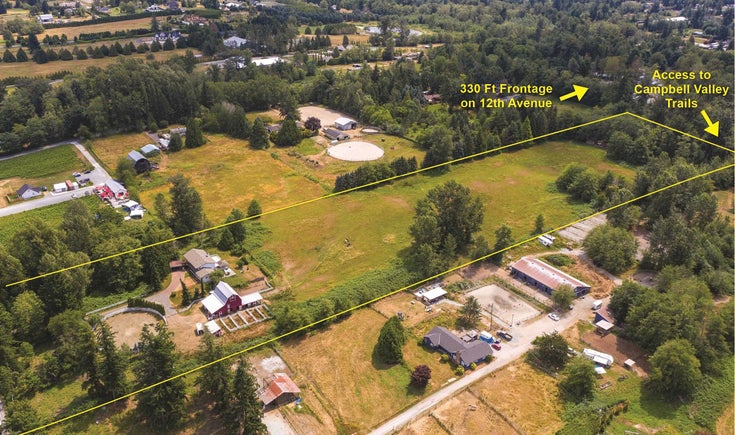 21068 16 AVENUE - Campbell Valley House with Acreage for sale, 5 Bedrooms (R2600342)
