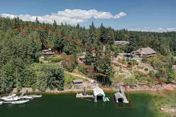5462 SECRET COVE ROAD - Halfmn Bay Secret Cv Redroofs House with Acreage for sale, 3 Bedrooms (R2600568)