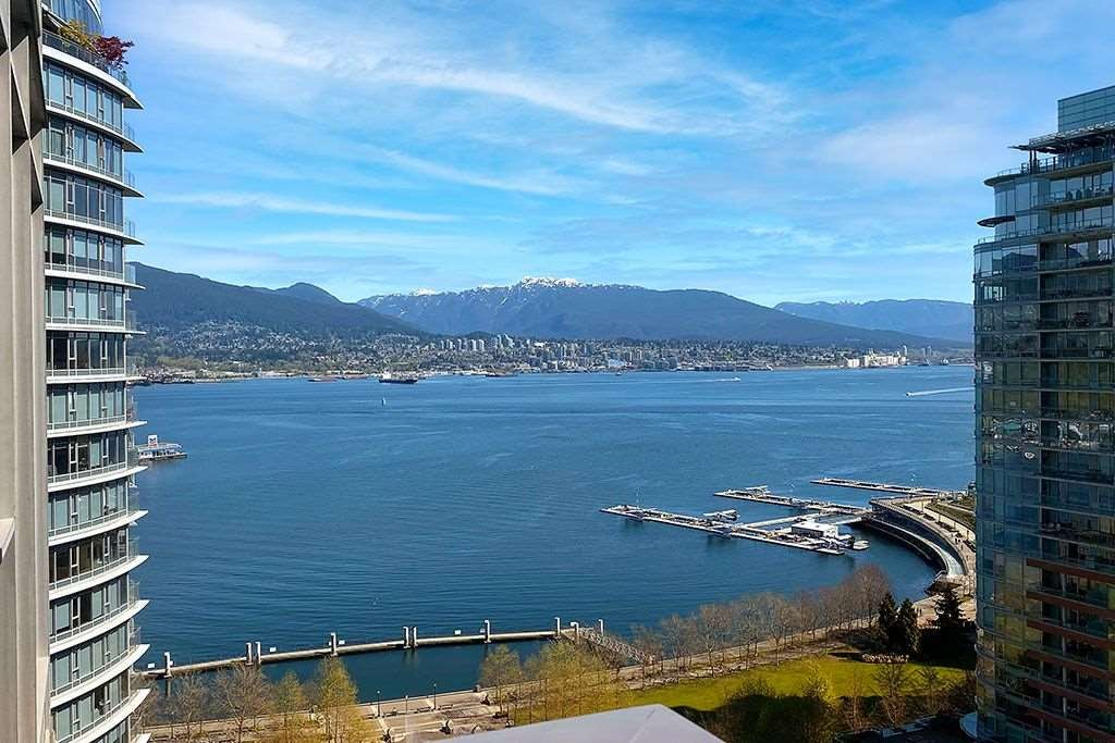 2004 1205 W HASTINGS STREET - Coal Harbour Apartment/Condo for sale, 2 Bedrooms (R2600723) - #1