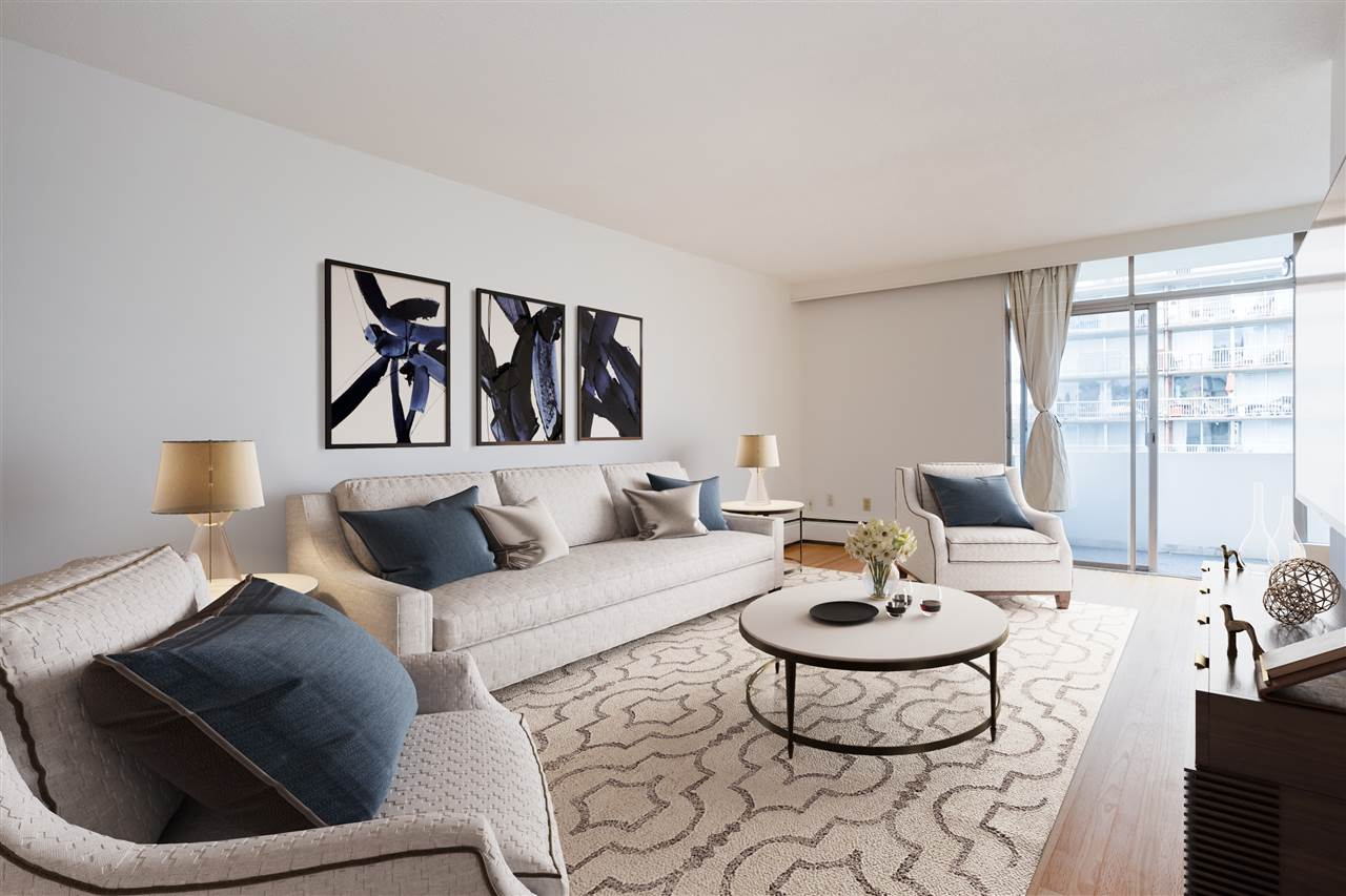 604 1425 ESQUIMALT AVENUE - Ambleside Apartment/Condo for sale, 1 Bedroom (R2600784) - #1