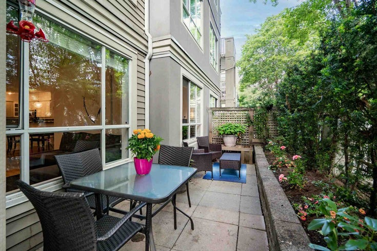 109 2755 MAPLE STREET - Kitsilano Townhouse for sale, 2 Bedrooms (R2600990)