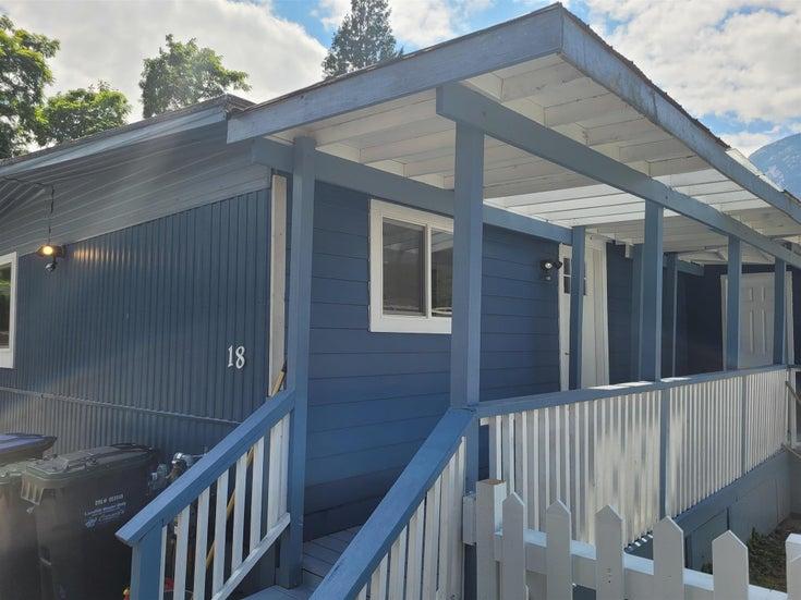 18 40022 GOVERNMENT ROAD - Garibaldi Estates Manufactured for sale, 2 Bedrooms (R2601057)