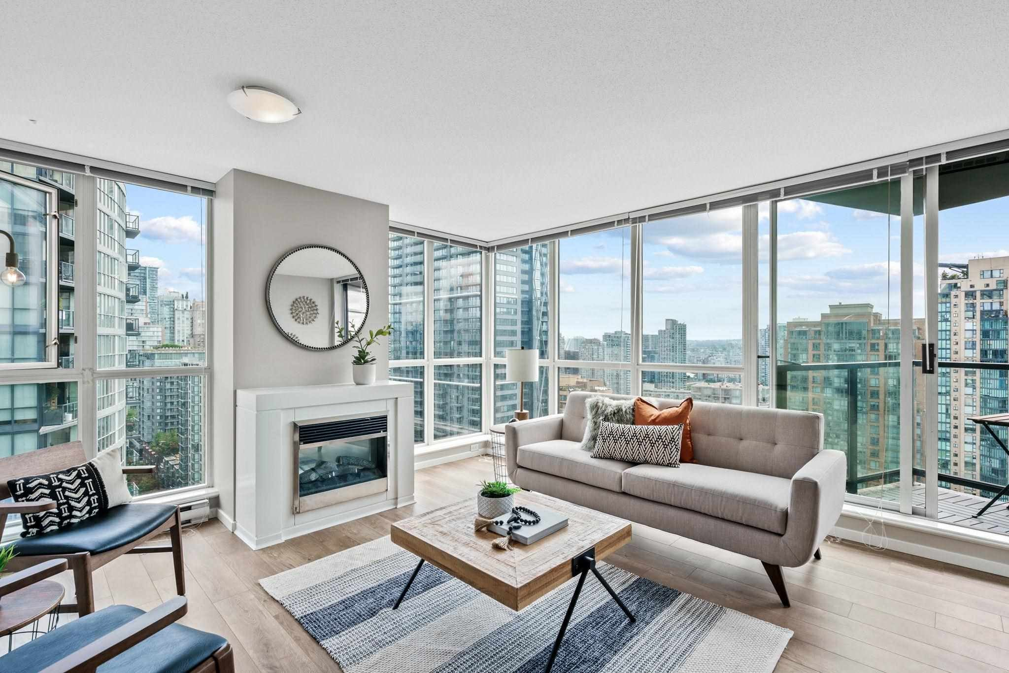 2104 1199 SEYMOUR STREET - Downtown VW Apartment/Condo for sale, 2 Bedrooms (R2601166) - #1