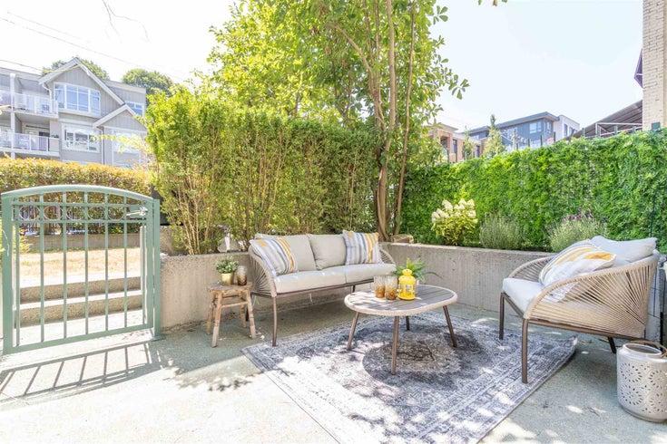 103 2028 W 11TH AVENUE - Kitsilano Apartment/Condo for sale, 1 Bedroom (R2601184)
