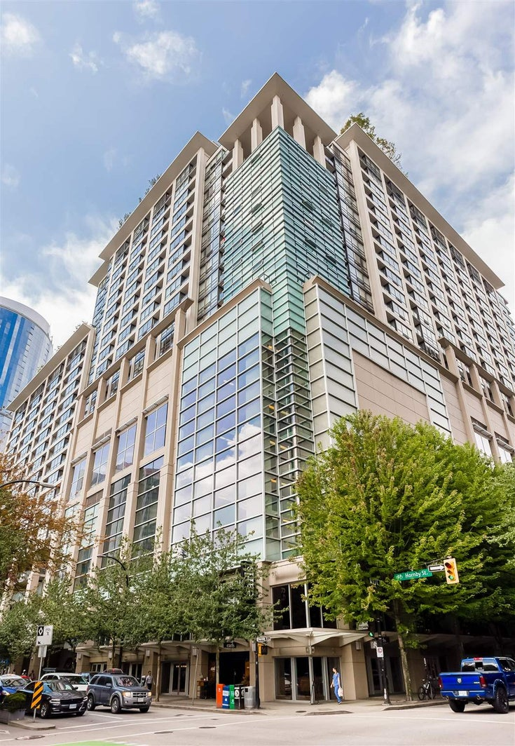1333 938 SMITHE STREET - Downtown VW Apartment/Condo for sale, 1 Bedroom (R2601235)
