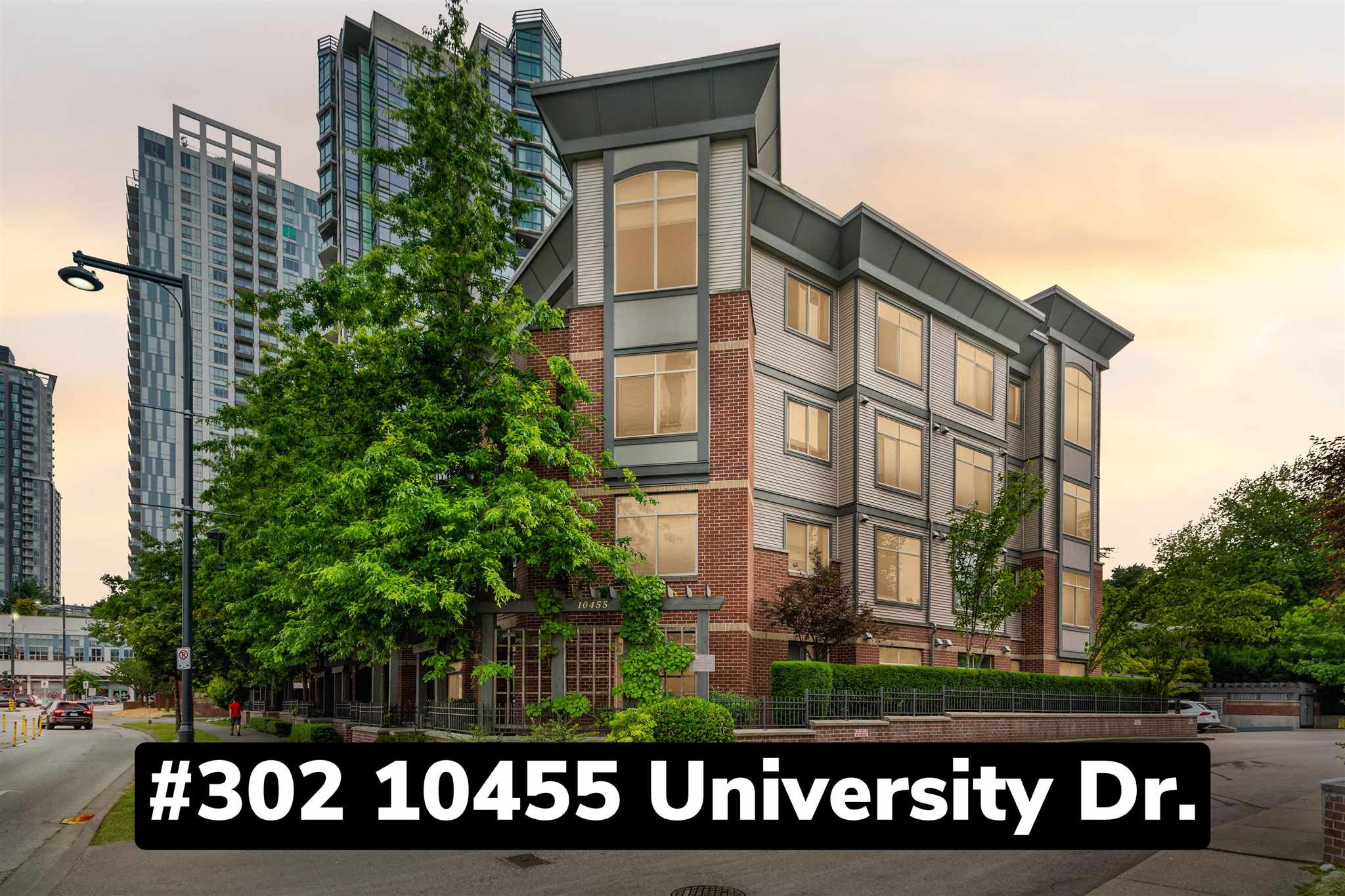 302 10455 UNIVERSITY DRIVE - Whalley Apartment/Condo for sale, 1 Bedroom (R2601458)