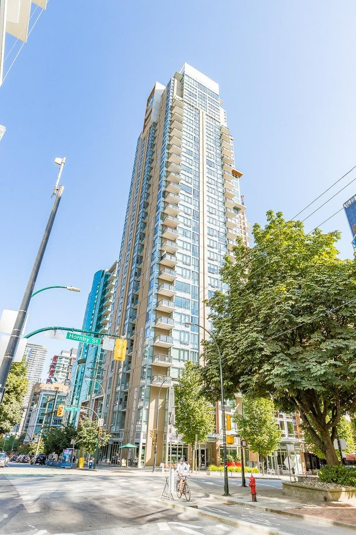 801 1308 HORNBY STREET - Downtown VW Apartment/Condo for sale, 2 Bedrooms (R2601577)