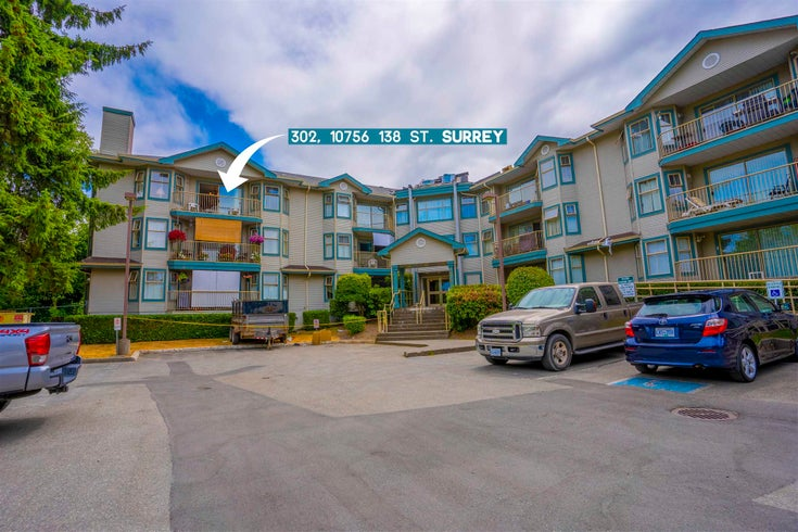 302 10756 138 STREET - Whalley Apartment/Condo for sale, 2 Bedrooms (R2601788)