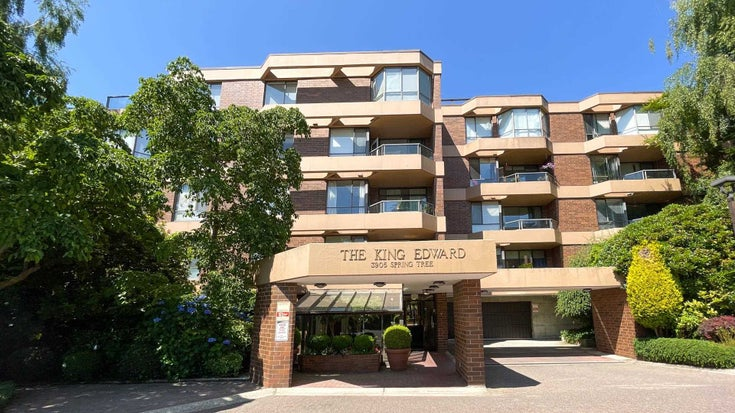206 3905 SPRINGTREE DRIVE - Quilchena Apartment/Condo for sale, 2 Bedrooms (R2601805)