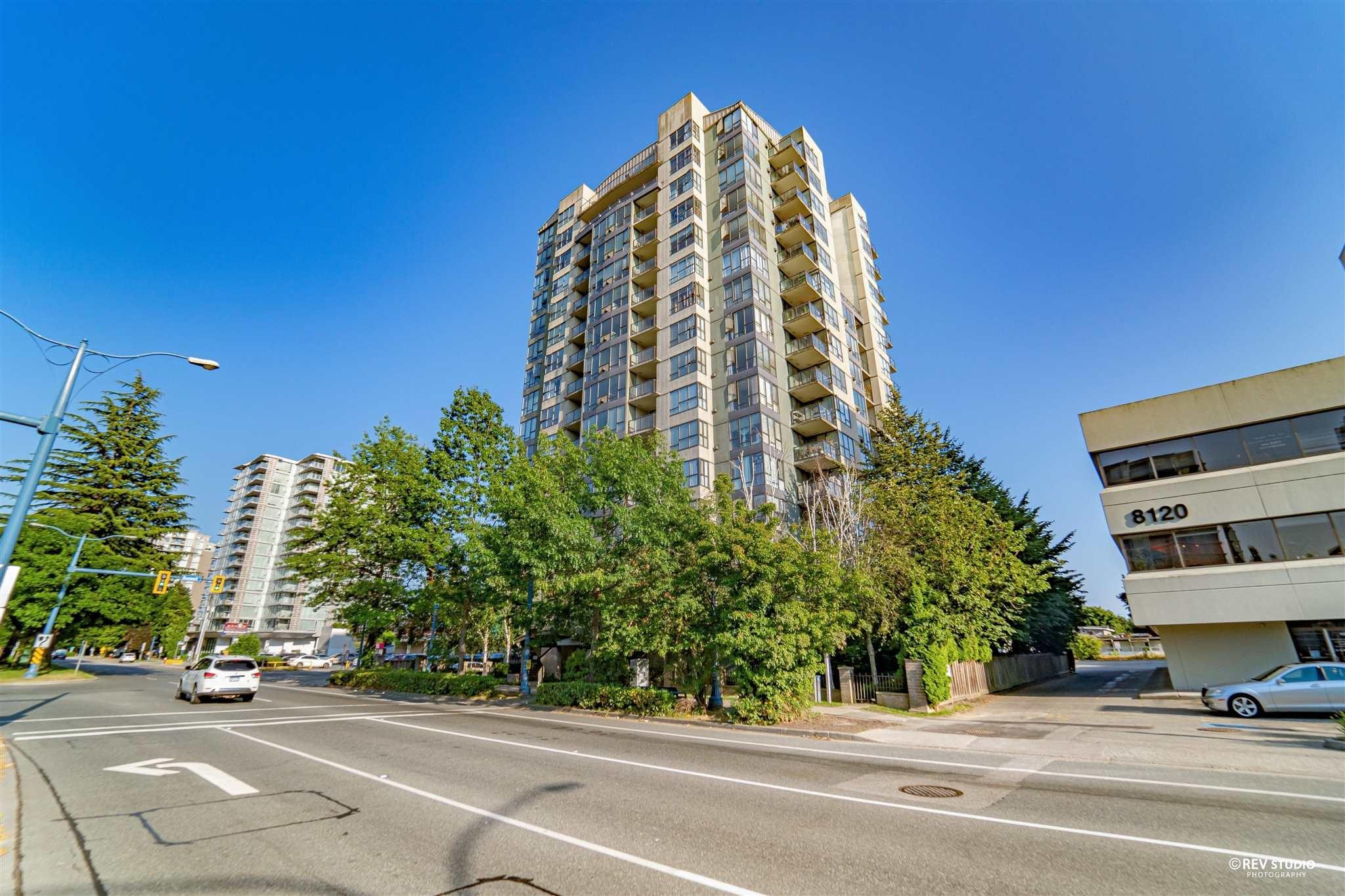 1602 8180 GRANVILLE AVENUE - Brighouse South Apartment/Condo for sale, 2 Bedrooms (R2601811)