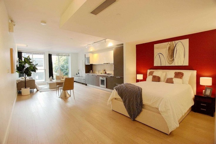 201 1477 W PENDER STREET - Coal Harbour Apartment/Condo for sale, 1 Bedroom (R2601875)