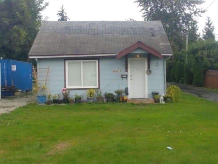 46237 PORTAGE AVENUE - Chilliwack N Yale-Well House/Single Family for sale, 2 Bedrooms (R2602302)