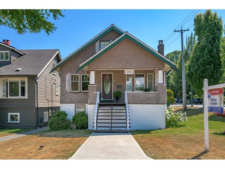 2802 MCGILL STREET - Hastings Sunrise House/Single Family for sale, 4 Bedrooms (R2602409)