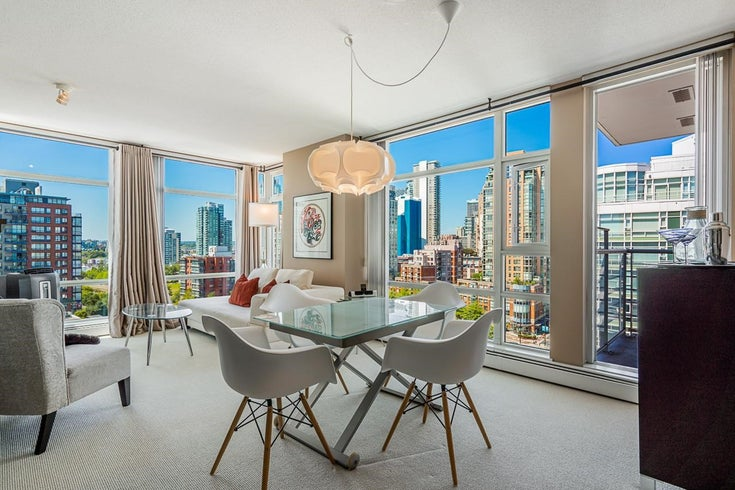1606 1199 MARINASIDE CRESCENT - Yaletown Apartment/Condo for sale, 1 Bedroom (R2602482)