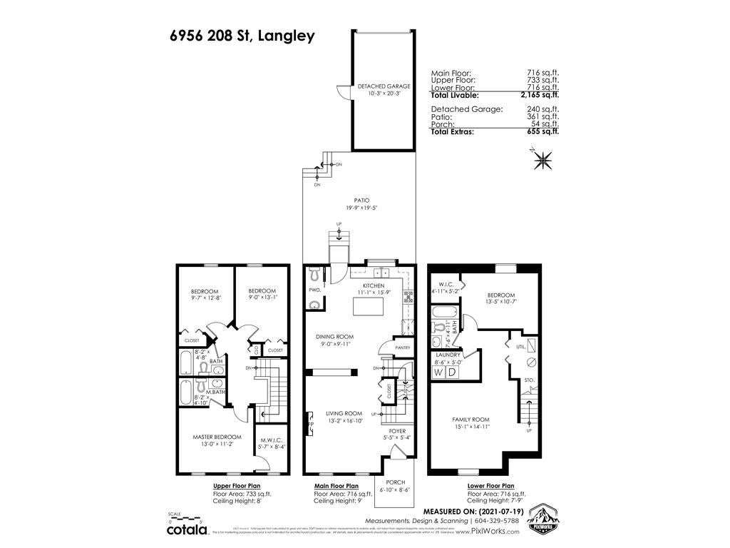 6956 208 STREET - Willoughby Heights Row House (Non-Strata) for sale, 4 Bedrooms (R2602745) - #2