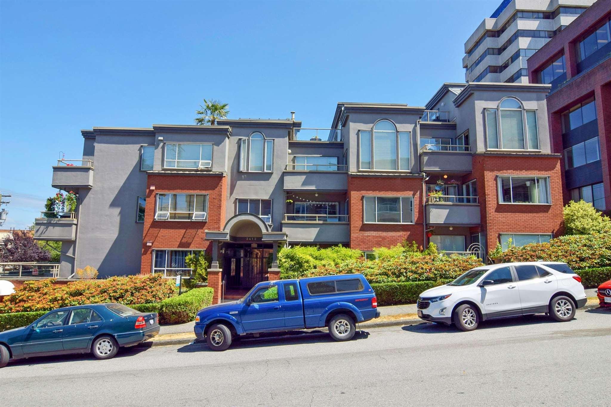 212 2412 ALDER STREET - Fairview VW Apartment/Condo for sale, 2 Bedrooms (R2602780)
