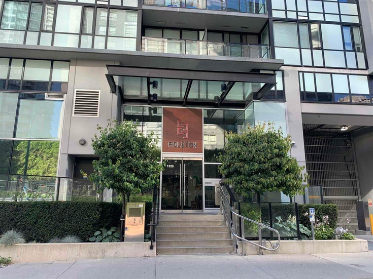 1307 1325 ROLSTON STREET - Downtown VW Apartment/Condo for sale, 1 Bedroom (R2603024)