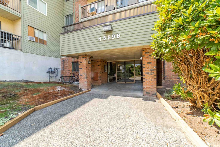 308 45598 MCINTOSH DRIVE - Chilliwack W Young-Well Apartment/Condo for sale, 1 Bedroom (R2603170)