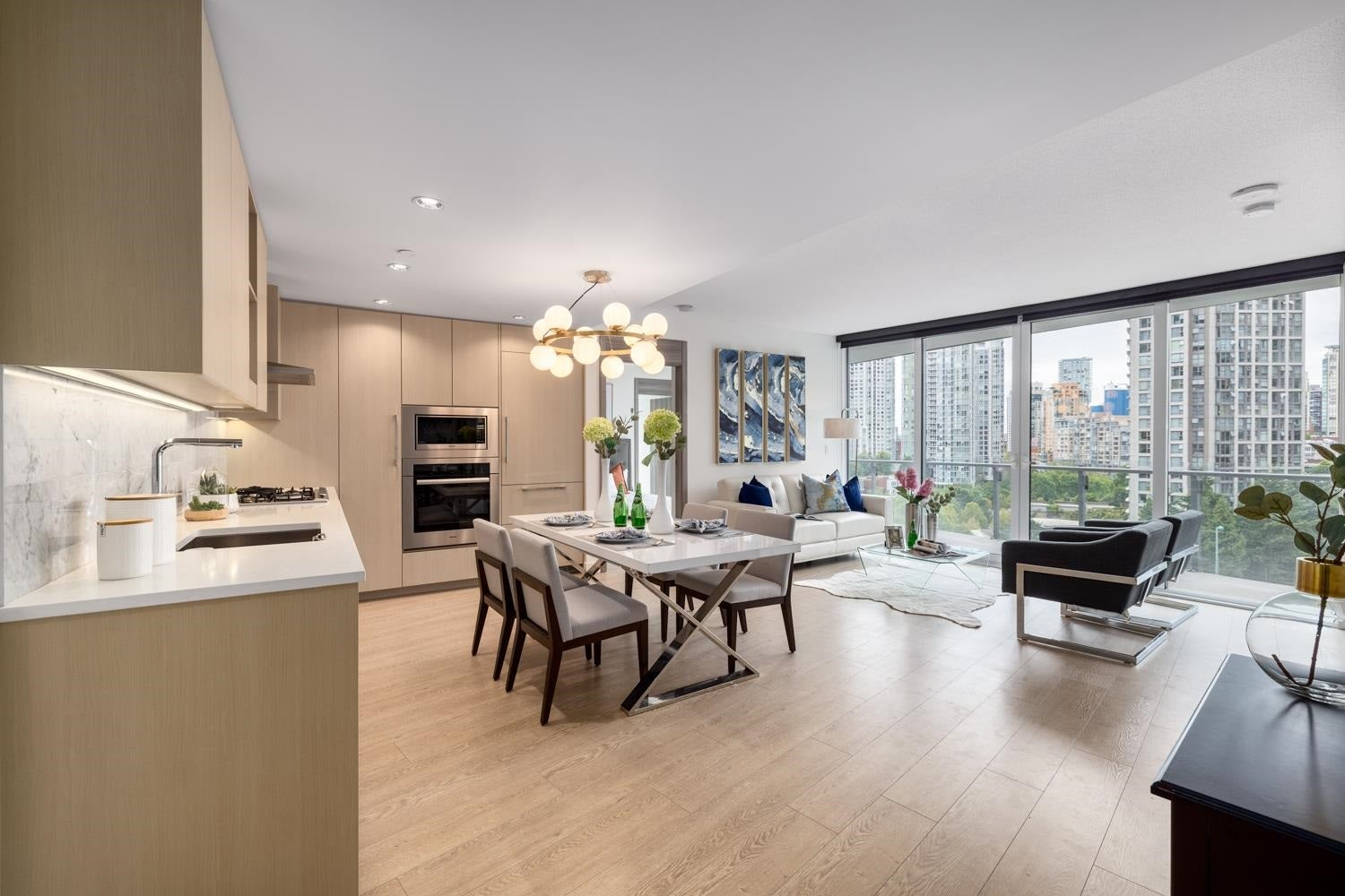 1001 89 NELSON STREET - Yaletown Apartment/Condo for sale, 2 Bedrooms (R2603307) - #1