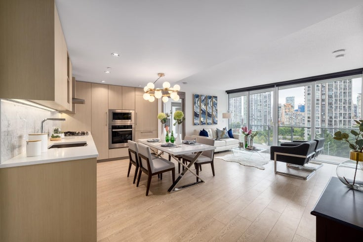 1001 89 NELSON STREET - Yaletown Apartment/Condo for sale, 2 Bedrooms (R2603307)