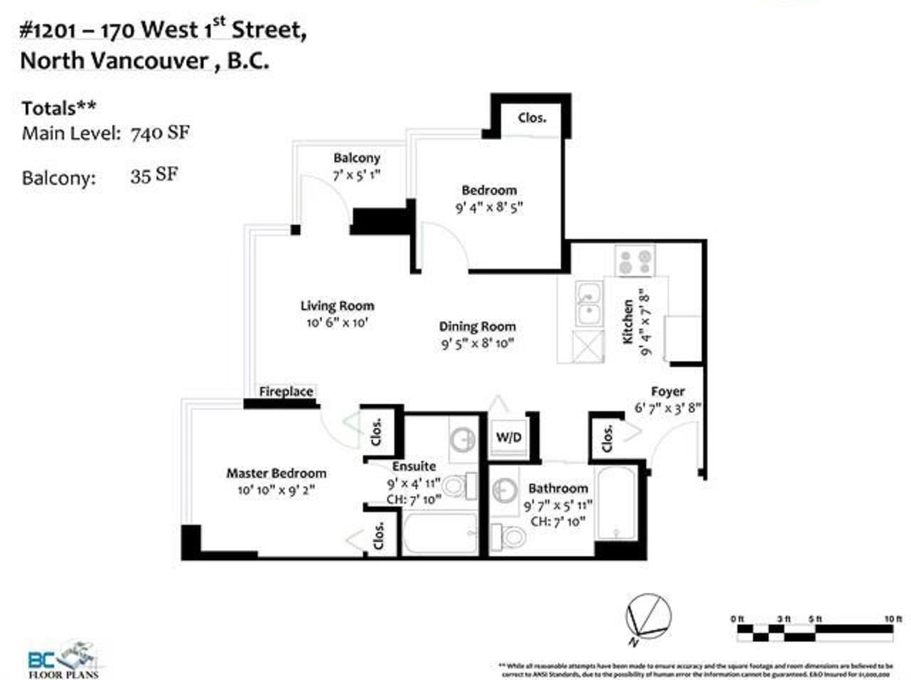 1201 170 W 1ST STREET - Lower Lonsdale Apartment/Condo for sale, 2 Bedrooms (R2603325) - #25