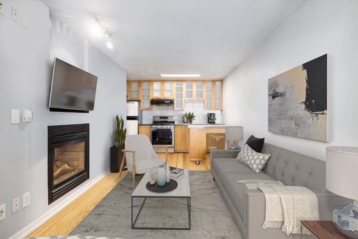 2105 969 RICHARDS STREET - Downtown VW Apartment/Condo for sale, 1 Bedroom (R2603346)