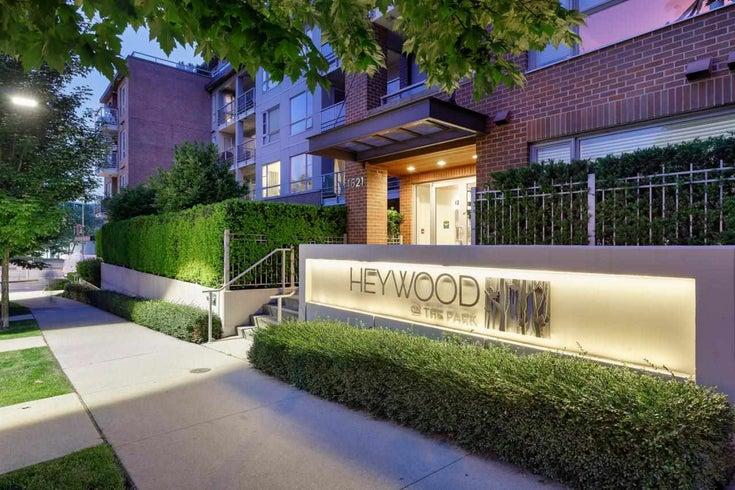 303 1621 HAMILTON AVENUE - Mosquito Creek Apartment/Condo for sale, 2 Bedrooms (R2603480)
