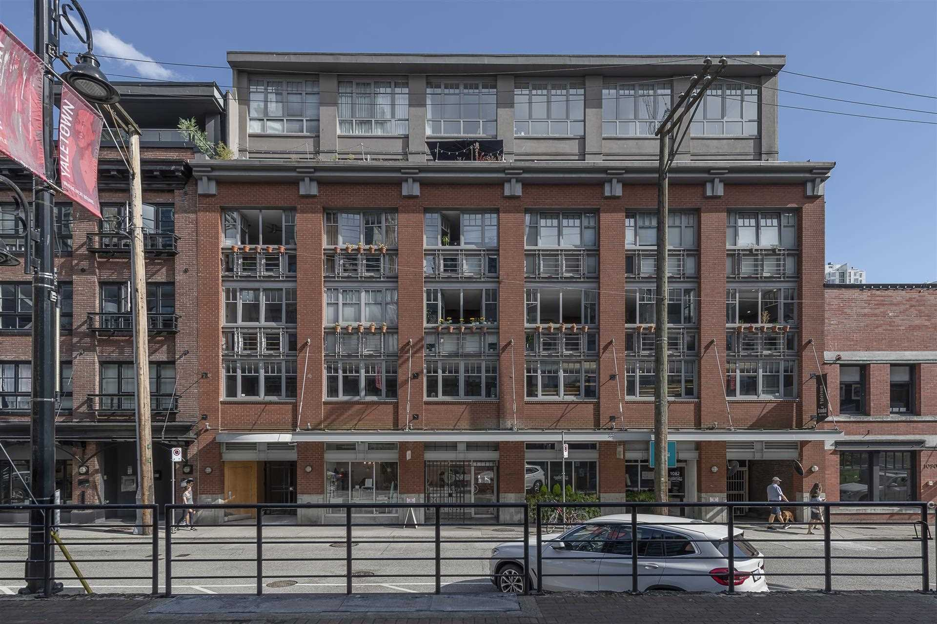 308 1072 HAMILTON STREET - Yaletown Apartment/Condo for sale, 1 Bedroom (R2603481) - #1