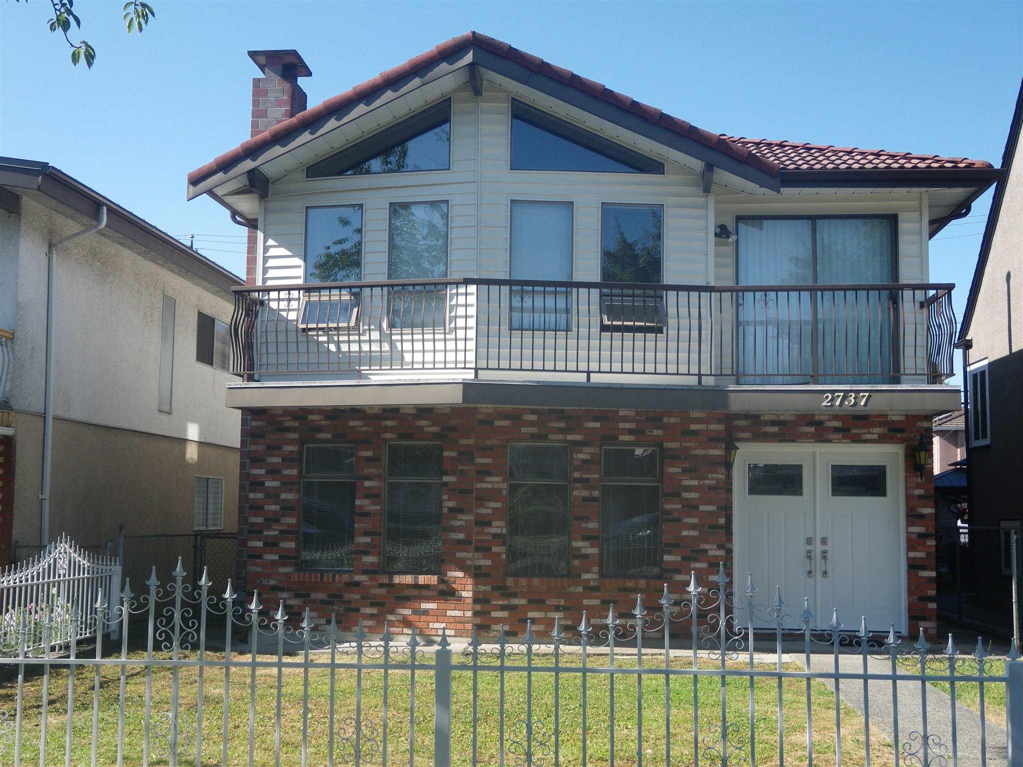 2737 E 2ND AVENUE - Renfrew VE House/Single Family for sale, 5 Bedrooms (R2603551) - #1