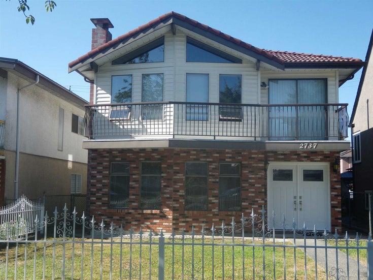 2737 E 2ND AVENUE - Renfrew VE House/Single Family for sale, 5 Bedrooms (R2603551)