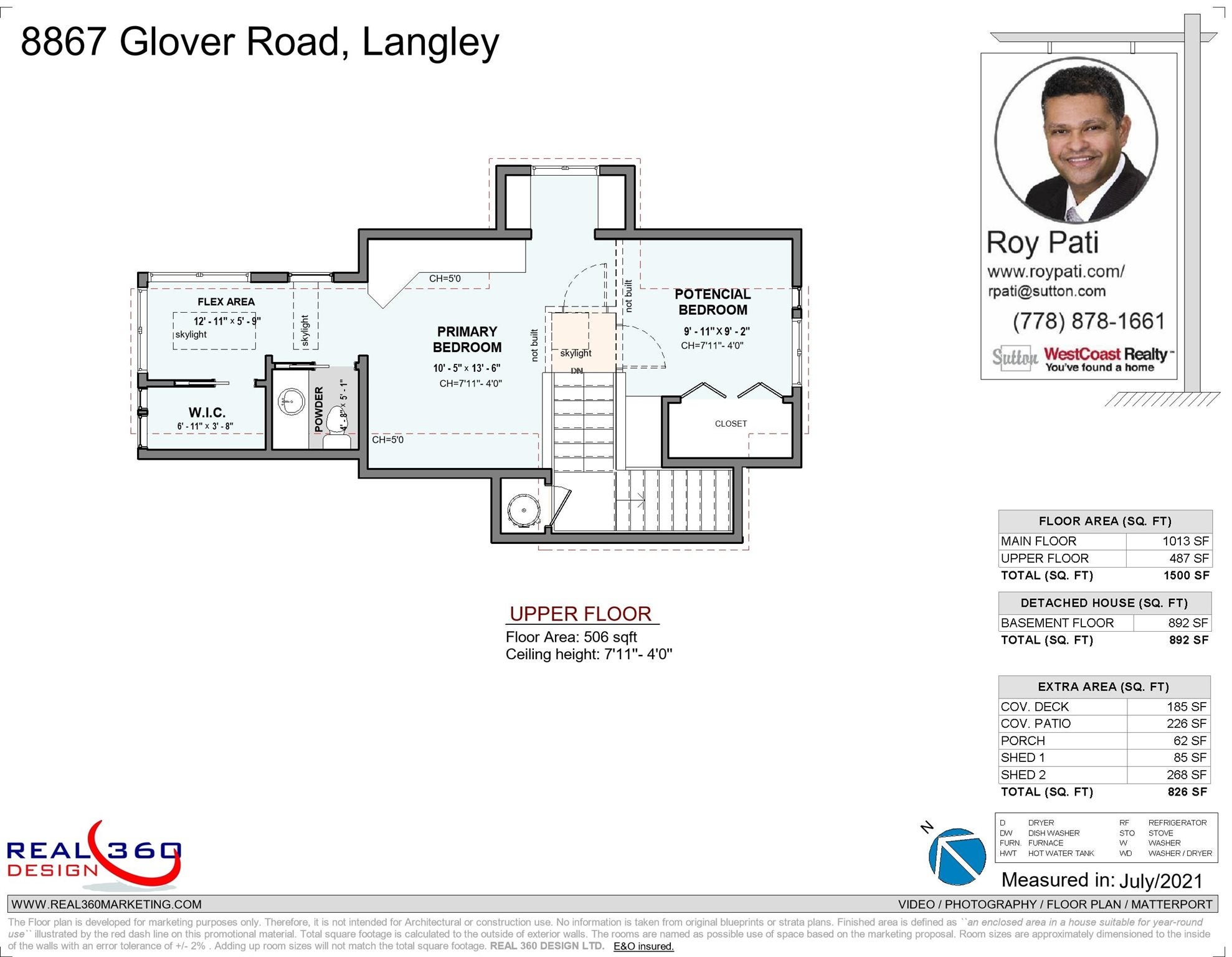 8867 GLOVER ROAD - Fort Langley House/Single Family for sale, 1 Bedroom (R2603665) - #39