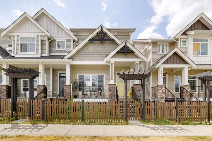 8615 CEDAR STREET - Mission BC Row House (Non-Strata) for sale, 4 Bedrooms (R2603677)