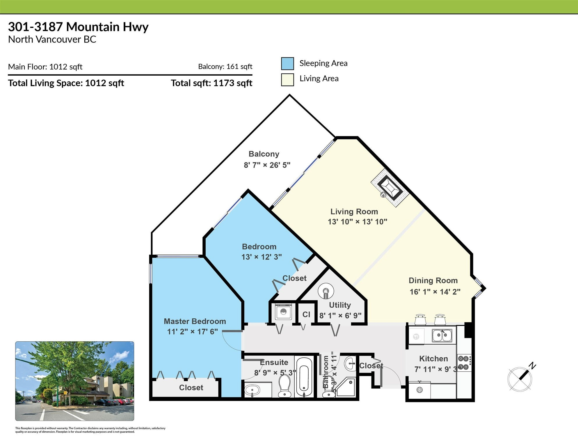 301 3187 MOUNTAIN HIGHWAY - Lynn Valley Apartment/Condo for sale, 2 Bedrooms (R2603681) - #23