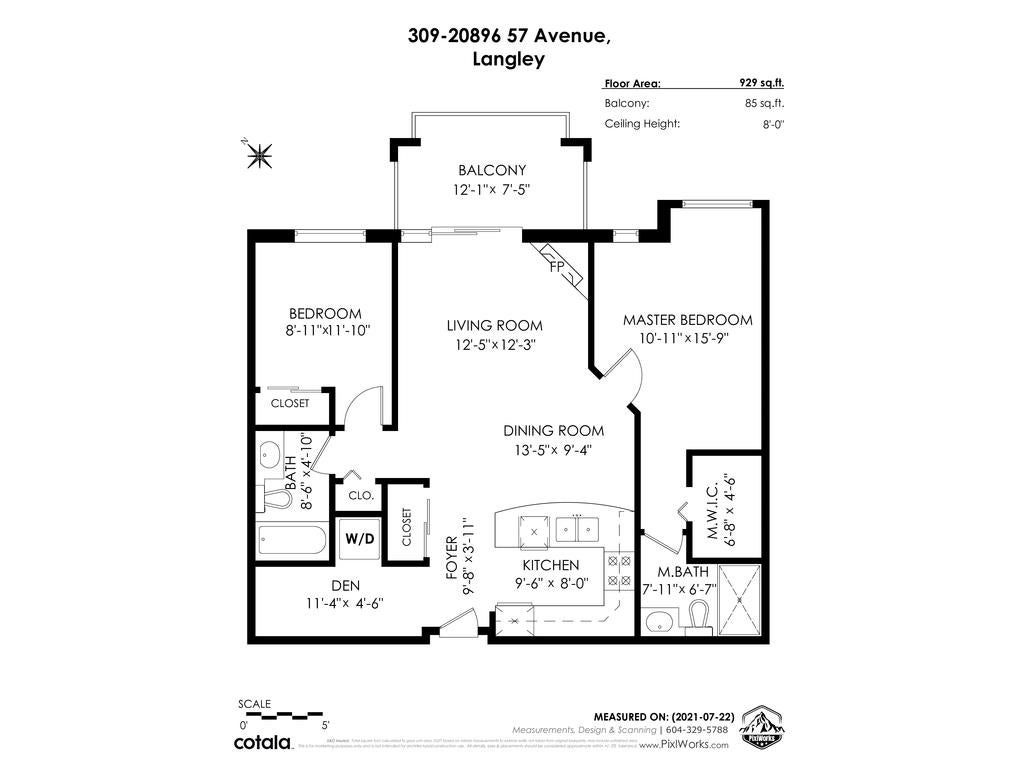 309 20896 57 AVENUE - Langley City Apartment/Condo for sale, 2 Bedrooms (R2603687) - #5