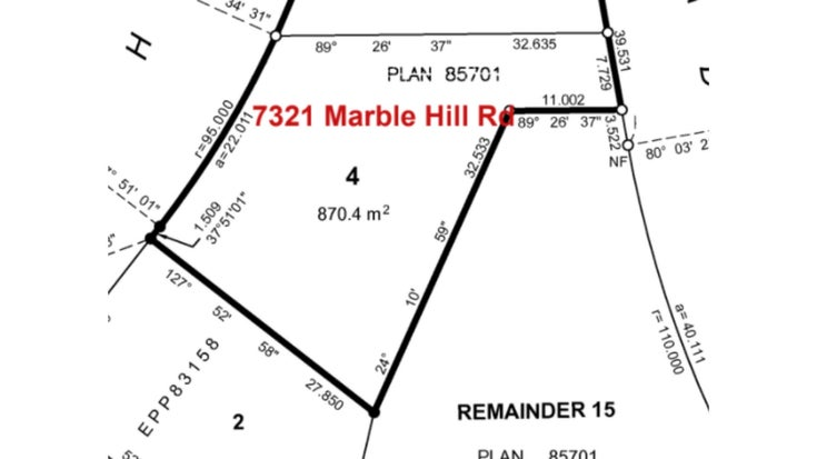 7321 MARBLE HILL ROAD - Eastern Hillsides for sale(R2603688)