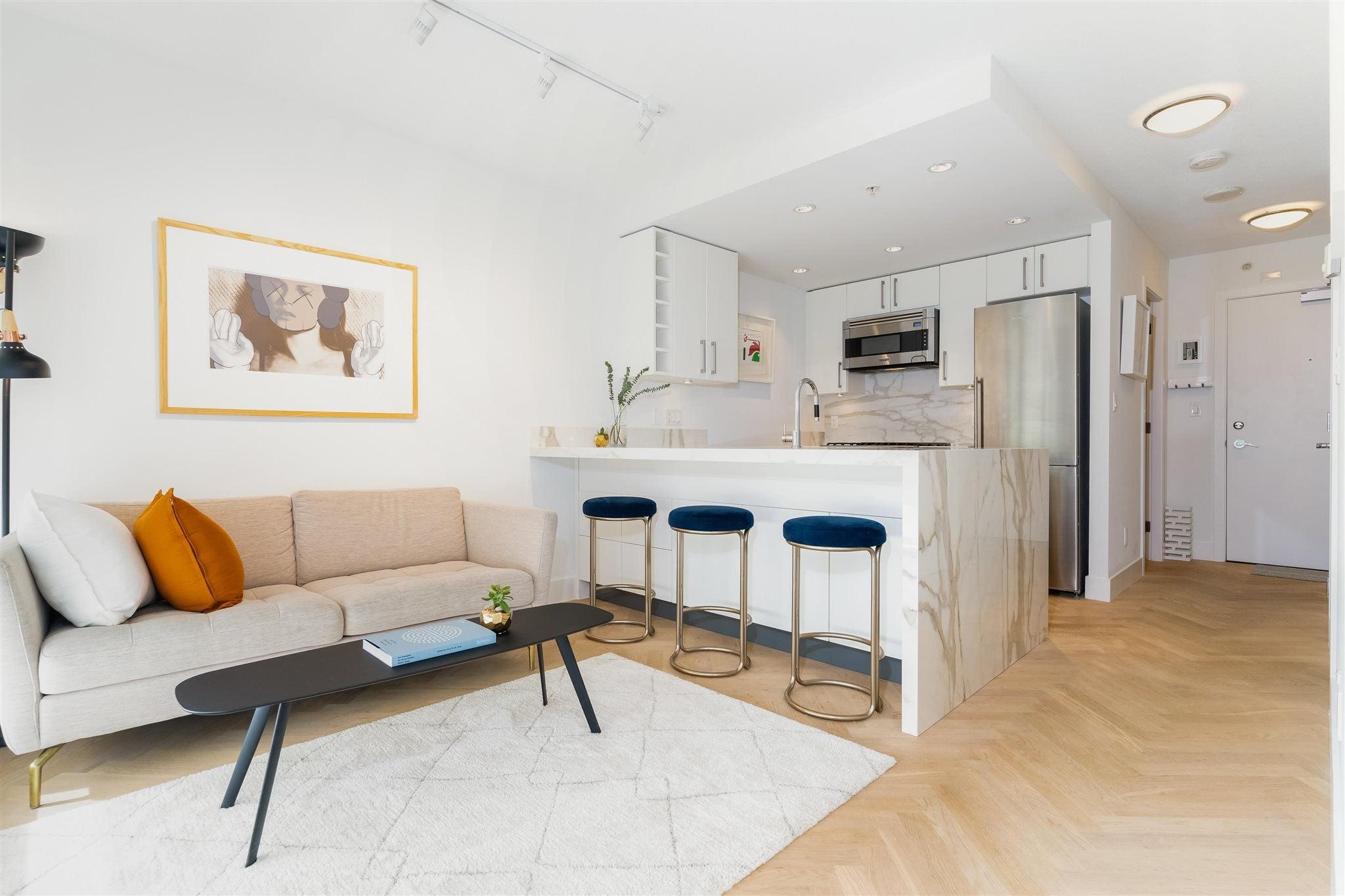 501 1708 COLUMBIA STREET - False Creek Apartment/Condo for sale, 1 Bedroom (R2603692) - #1